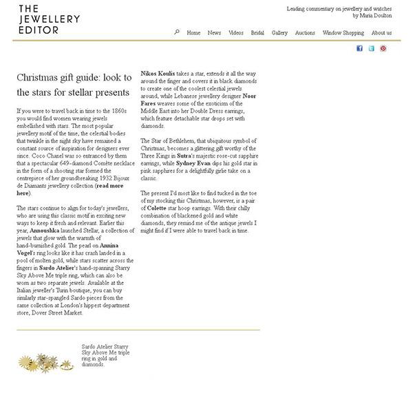 The Jewellery Editor December 2013