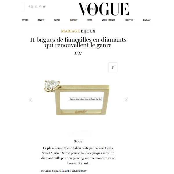 Vogue.fr August 2017